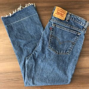 Levi's 516 Red Tag Straight Leg Jeans